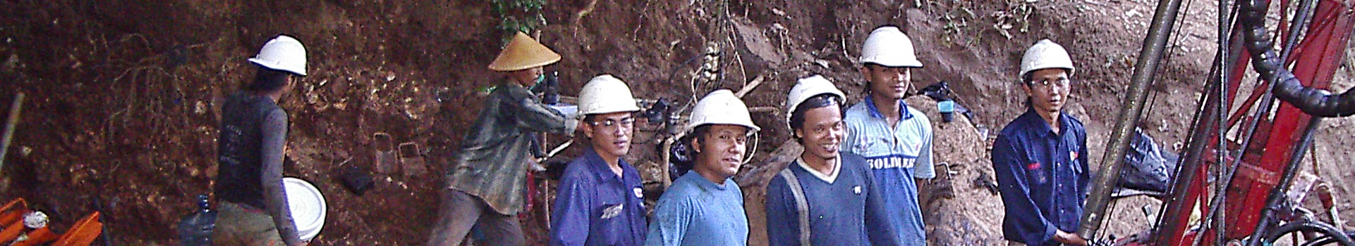 Drilling Tujuh Bukit - Pages